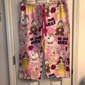 Bundle Disney Pajama Pants Beauty Bears Lion King